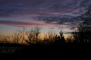 Sunset 26th March 2011